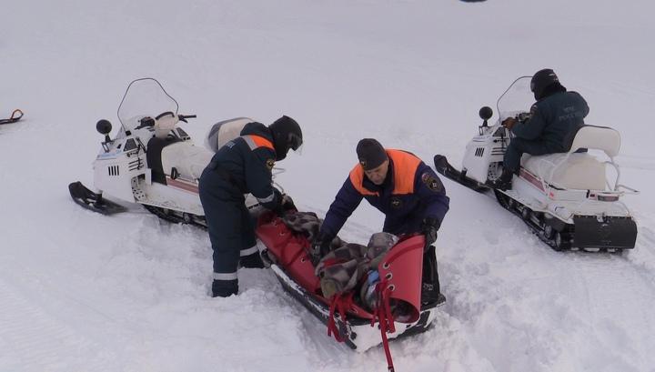 Альпинист получил травмы, сорвавшись с горы на перевале Географов