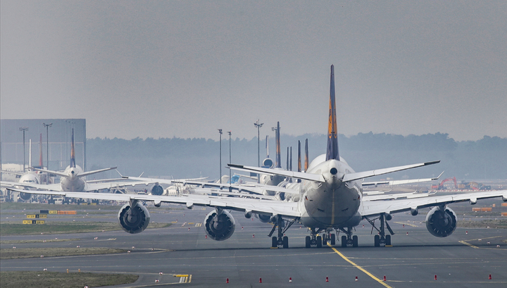 Росавиация прекращает регулярное и чартерное авиасообщение