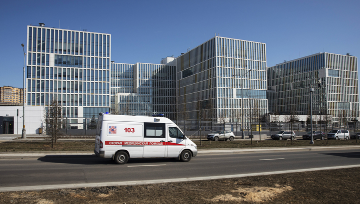 В больнице в Коммунарке находятся 456 пациентов