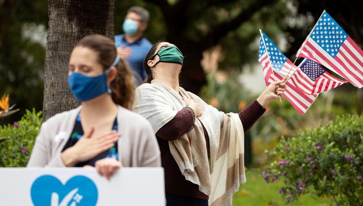 США вышли на первое место по числу жертв коронавируса