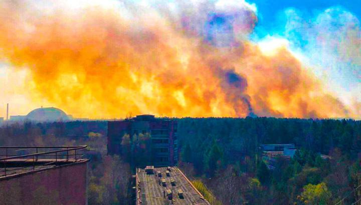 """""""Очень помог дождь"""": пожар в зоне отчуждения Чернобыльской АЭС потушен"""