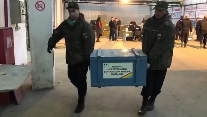 Задержание торговавших сломанными аппаратами ИВЛ мошенников сняли на видео