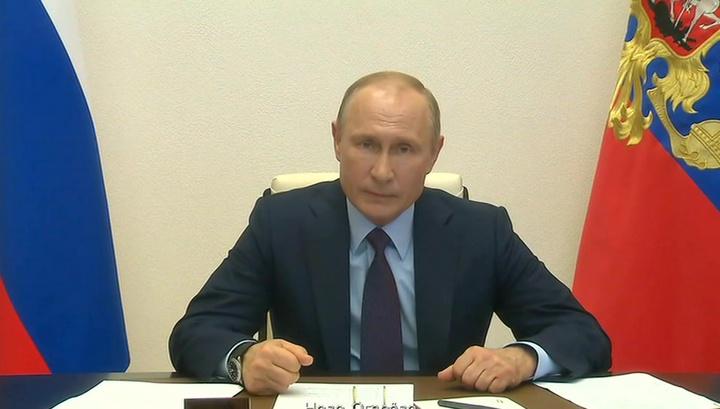 Путин о мерах против COVID-19: мы поступили абсолютно правильно