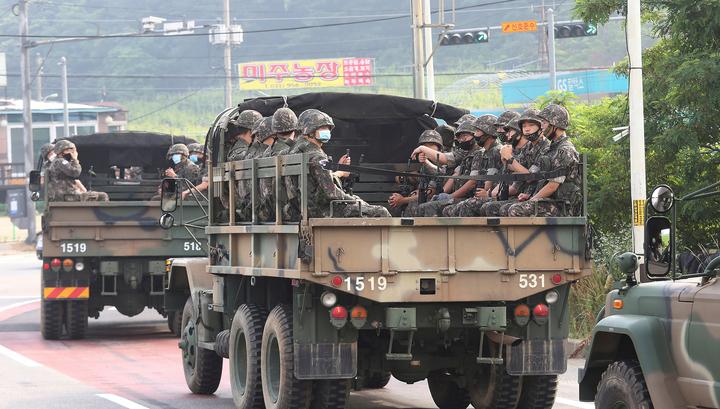 КНДР намерена возобновить военные учения у границы с Южной Кореей