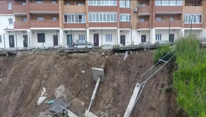 На восстановление склона после ЧП в Студгородке выделят 26 миллионов рублей