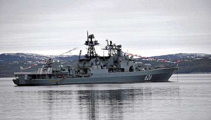 "Британские ВМС сопроводили корабль ""Вице-адмирал Кулаков"" через Ла-Манш"