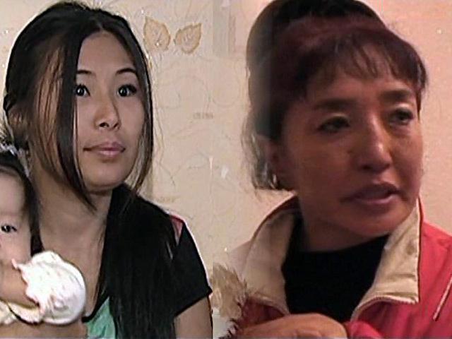 Мама с дочкой рабыней