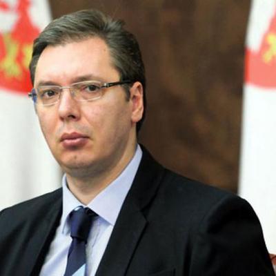 Многотысячный митинг в поддержку Александра Вучича прошёл в Белграде