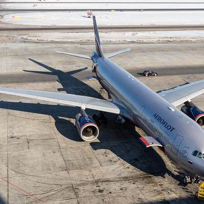 Самолету Ташкент – Москва пришлось сесть в Бухаре из-за сильной пыльной бури