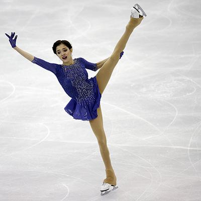 Евгения Медведева установила новый мировой рекорд