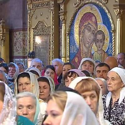 Верующие отмечают День Пресвятой Троицы, или Пятидесятницу