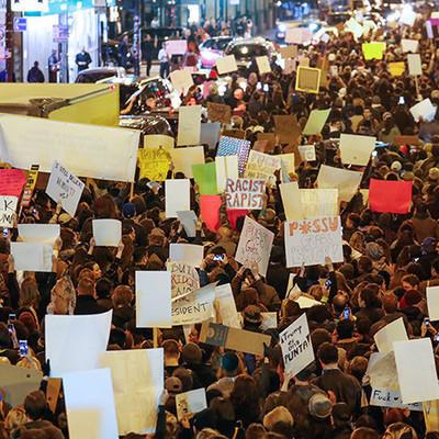 В Геленджике полиция задержала несколько участников несанкционированного митинга
