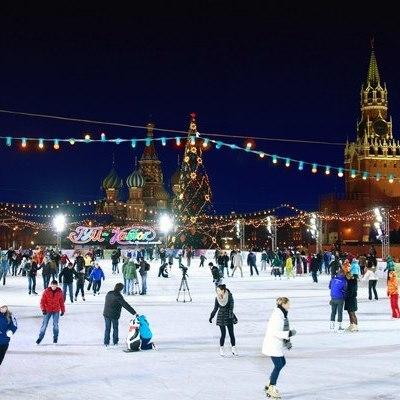 29 ноября наКрасной площади состоится торжественное открытие ГУМ-Катка иГУМ-Ярмарки