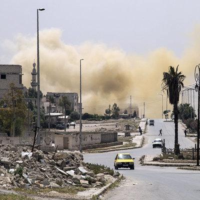 Турция обстреляли сирийских курдов на севере Сирии