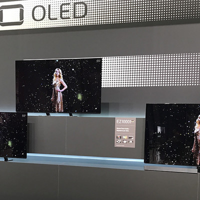 Panasonic представила три новых OLED-телевизора