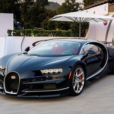 Гиперкар Bugatti установил мировой рекорд скорости по разгону с места