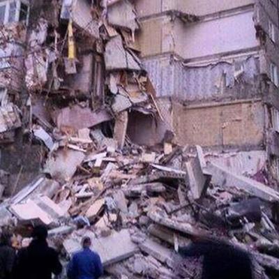 Взрыв многоэтажного жилого дома в грузинском Рустави