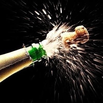 В России выросли продажи шампанского