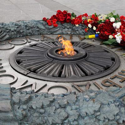 Восстановлена подача газа на мемориал