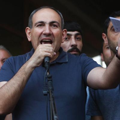 Никол Пашинян выдвинут кандидатом в премьер-министры Армении