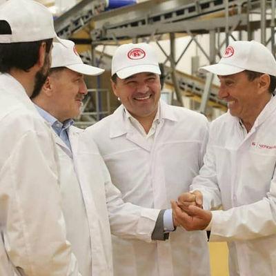 В Кашире открыли завод по производству сырокопченых колбас