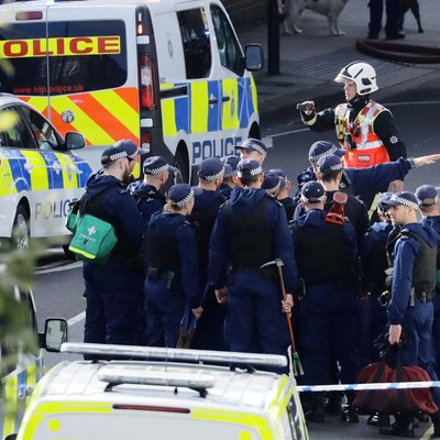 Протест против локдауна в Дублине закончился столкновениями с полицией