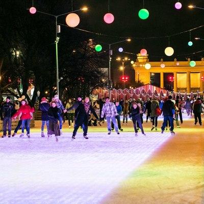 Не менее 50миллионов человек посетят этой зимой катки, лыжные трассы и снежные городки