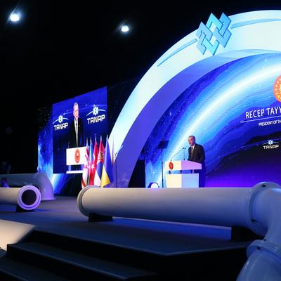 Путин: проекты, подобные «Турецкому потоку» носят только созидательный характер