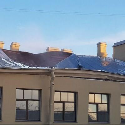 Несколько человек пострадали при обрушении перекрытий в университетском здании в Санкт-Петербурге