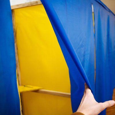 Явка избирателей на выборах президента Украины составила 18 процентов