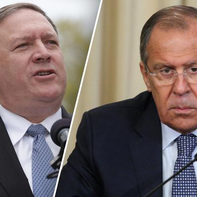 Лавров прокомментировал прошедшую встречу с госсекретарем США Майком Помпео