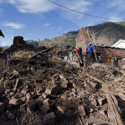 Землетрясение в Перу привело к разрушениям