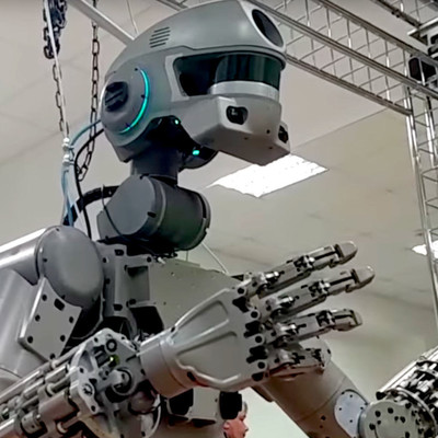Робот Федор после полета в космос отправится в музей