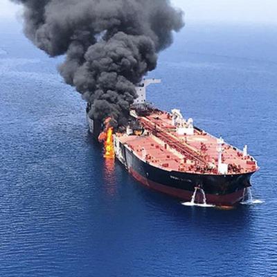 У РФ нет разведданных по инциденту с танкерами в Оманском заливе