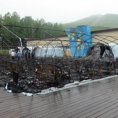 Путин выразил соболезнования в связи с трагедией в палаточном лагере под Хабаровском