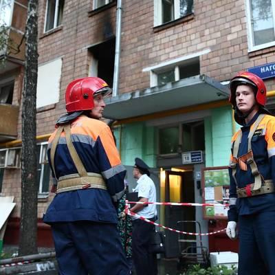 Газовые службы ряд районов Москвы на предмет утечки газа из-за жалоб жителей