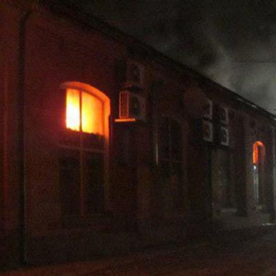 В Одесской области Украины после пожара в отеле