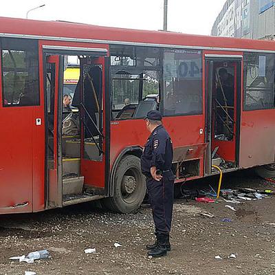 Полиция задержала водителя автобуса, попавшего накануне в Перми в ДТП