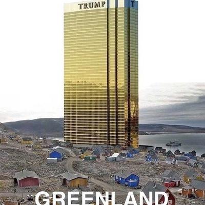 Трамп в шутку пообещал не строить небоскреб в Гренландии