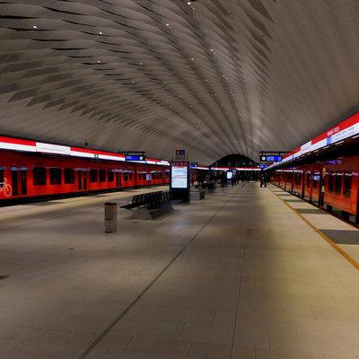 Несколько центральных станций метро в Хельсинки закрыты из-за затопления после дождя