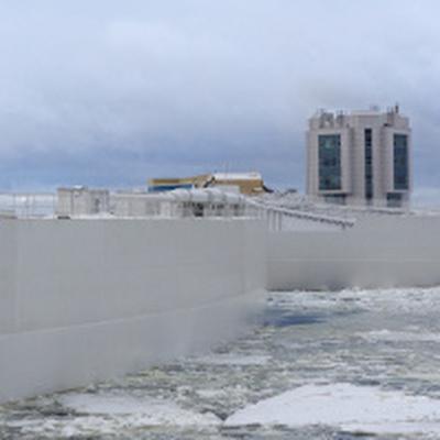 Дамбу в Петербурге закроют из-за прогнозируемого повышения уровня воды