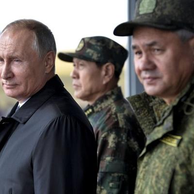 Владимир Путин прибыл на полигон Донгуз в Оренбургкой области