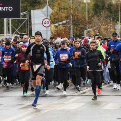 В столице завершился Седьмой Московский марафон