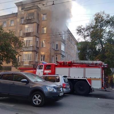 Площадь возгорания пожара в Подмосковье увеличилась до 1000 кв. метров