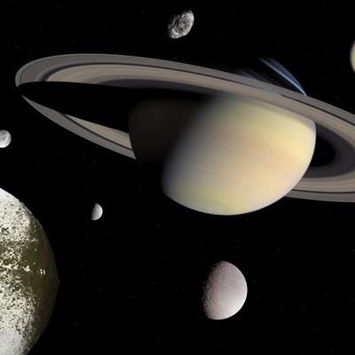 Большие запасы льда обнаружили ученые на поверхности спутника Сатурна – Энцеладе