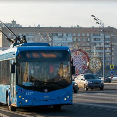 Троллейбусы ряда маршрутов задерживаются на Хорошёвском шоссе
