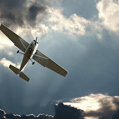 Легкомоторный самолёт упал в Волгу в Нижегородской области