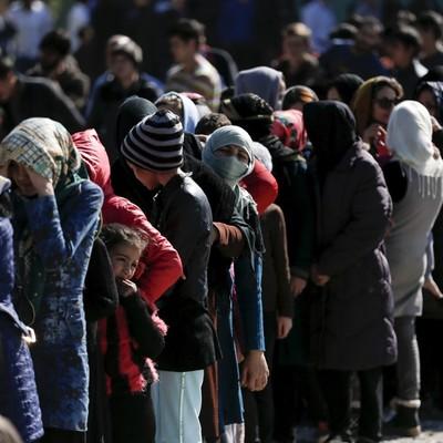 Мигранты отказались размещаться в греческом монастыре