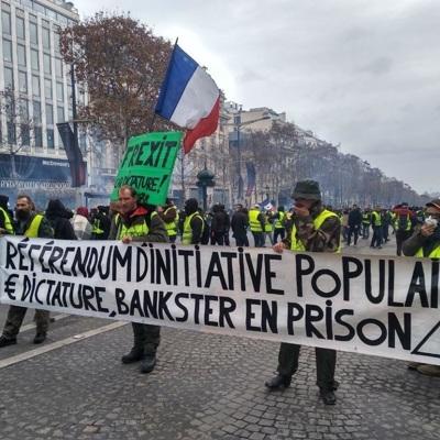 В Париже пройдет очередная акция протеста против пенсионной реформы