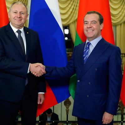 Дмитрий Медведев и Сергей Румас завершили переговоры в узком составе